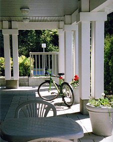 Guest house amenities bicycles rental